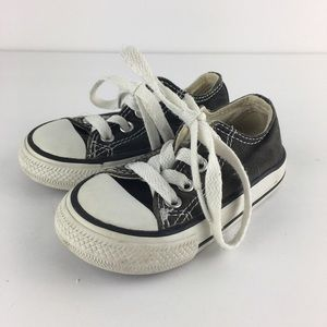 Infant Converse Shoes Black Size 5